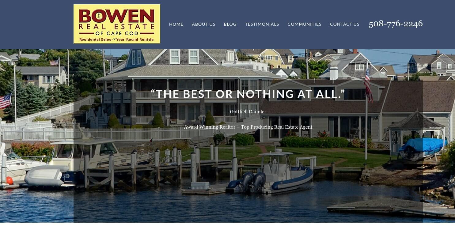 bowen-real-estate-website
